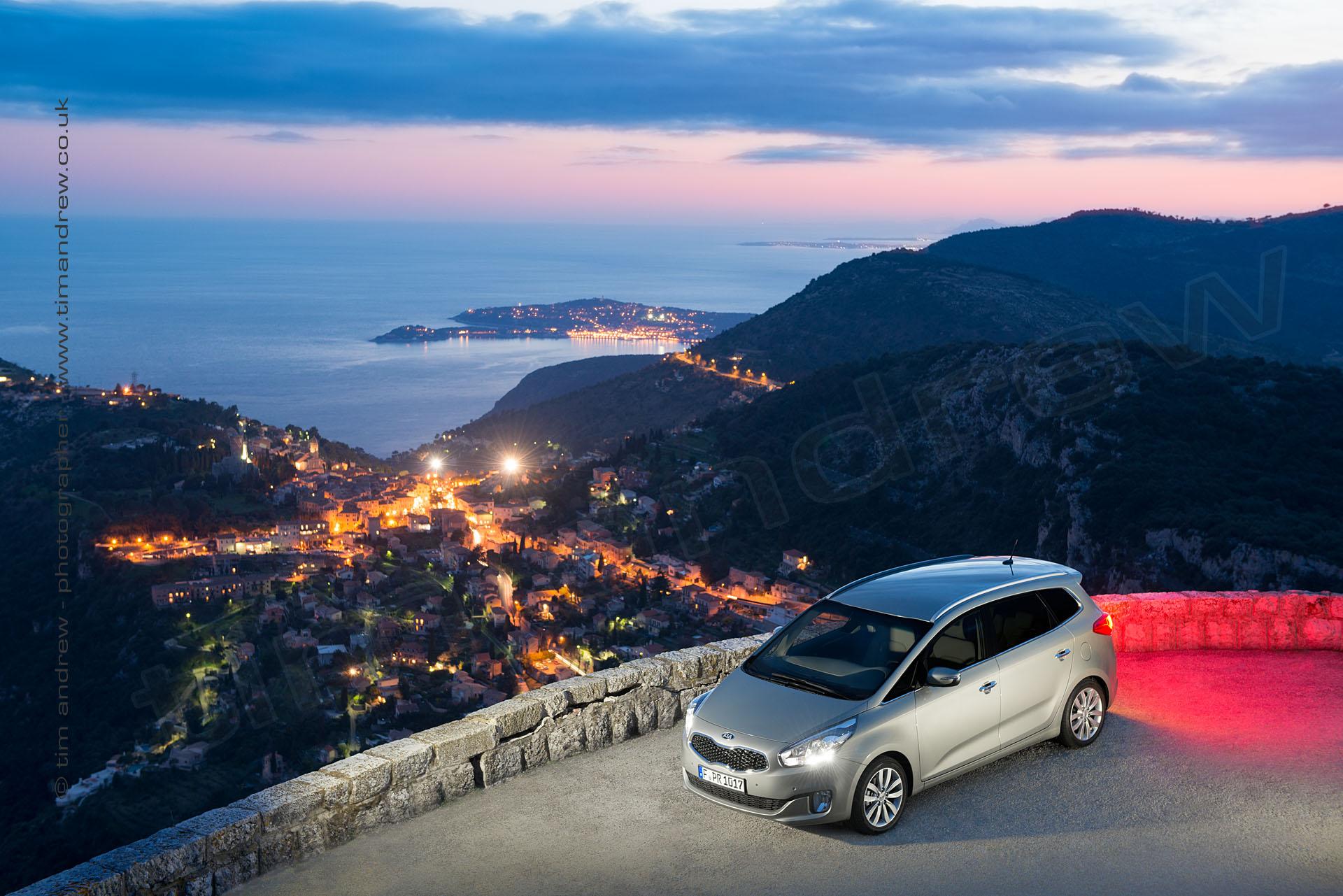 Kia Carens in Monte Carlo