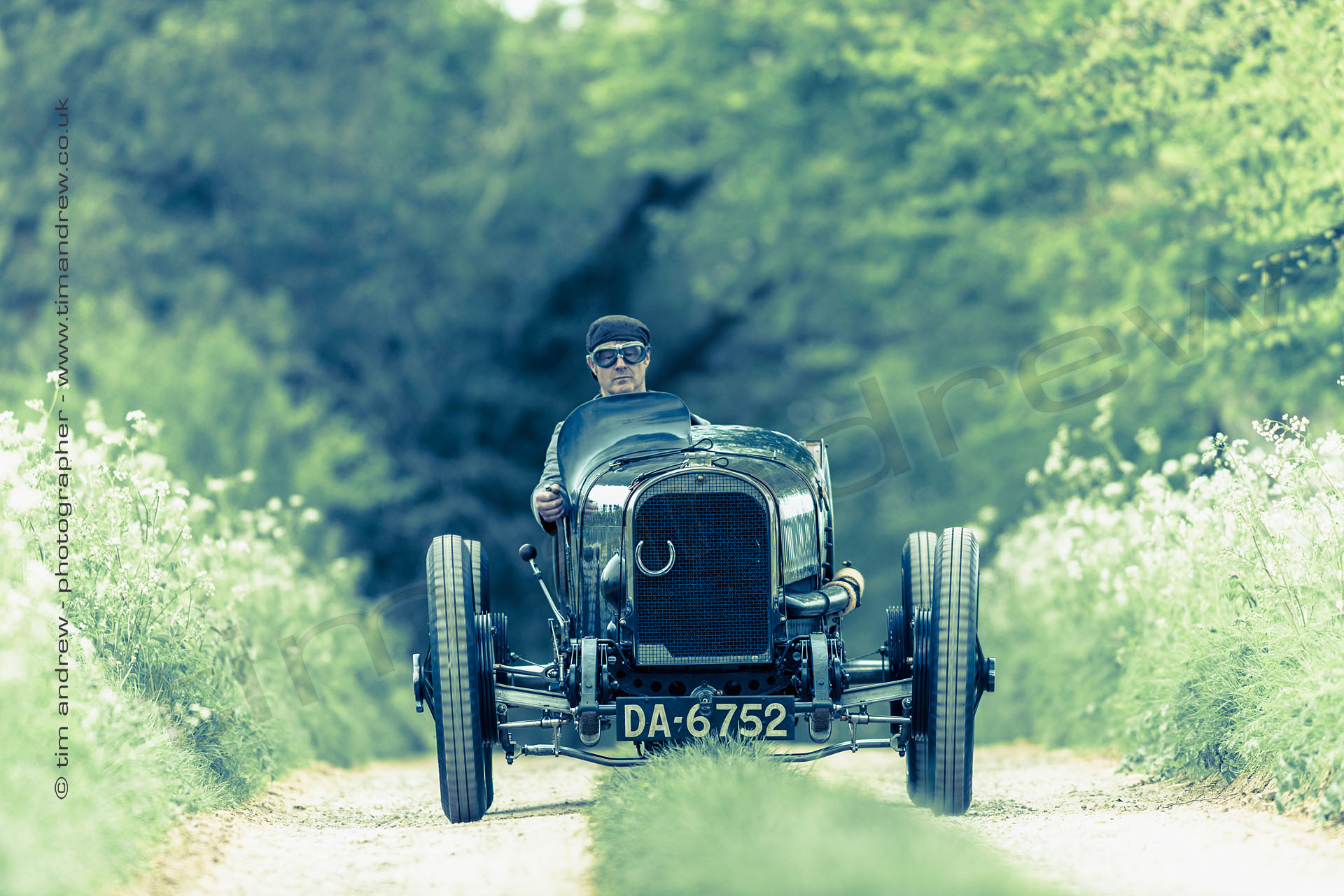 1922 Sunbeam TT in the Cotswolds