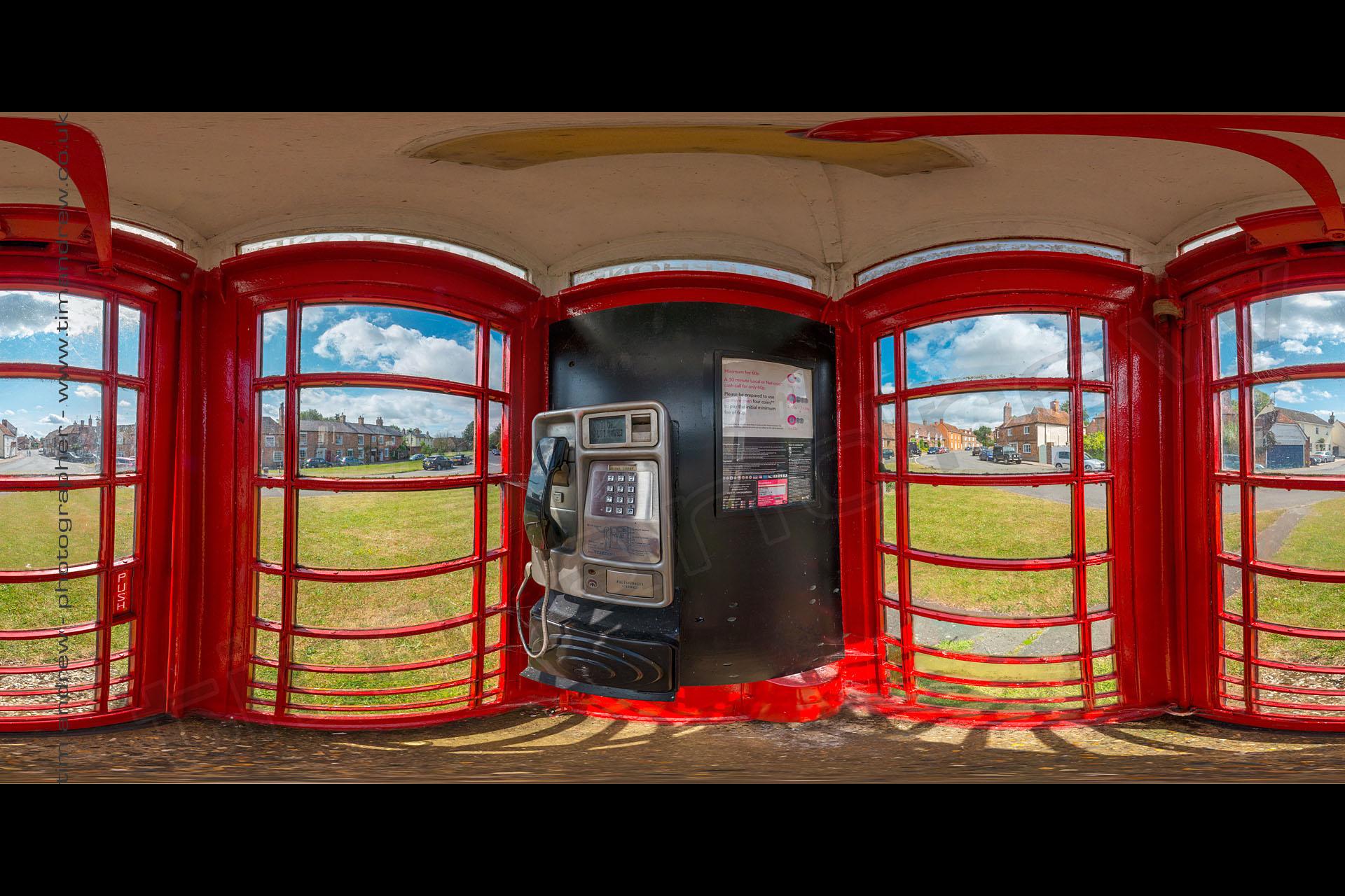 Brill telephone box 360 panorama
