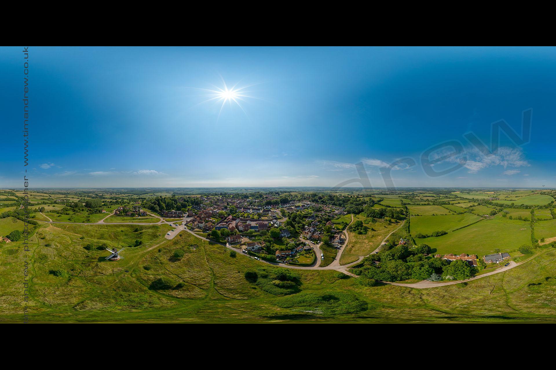 Brill Village aerial tour 360