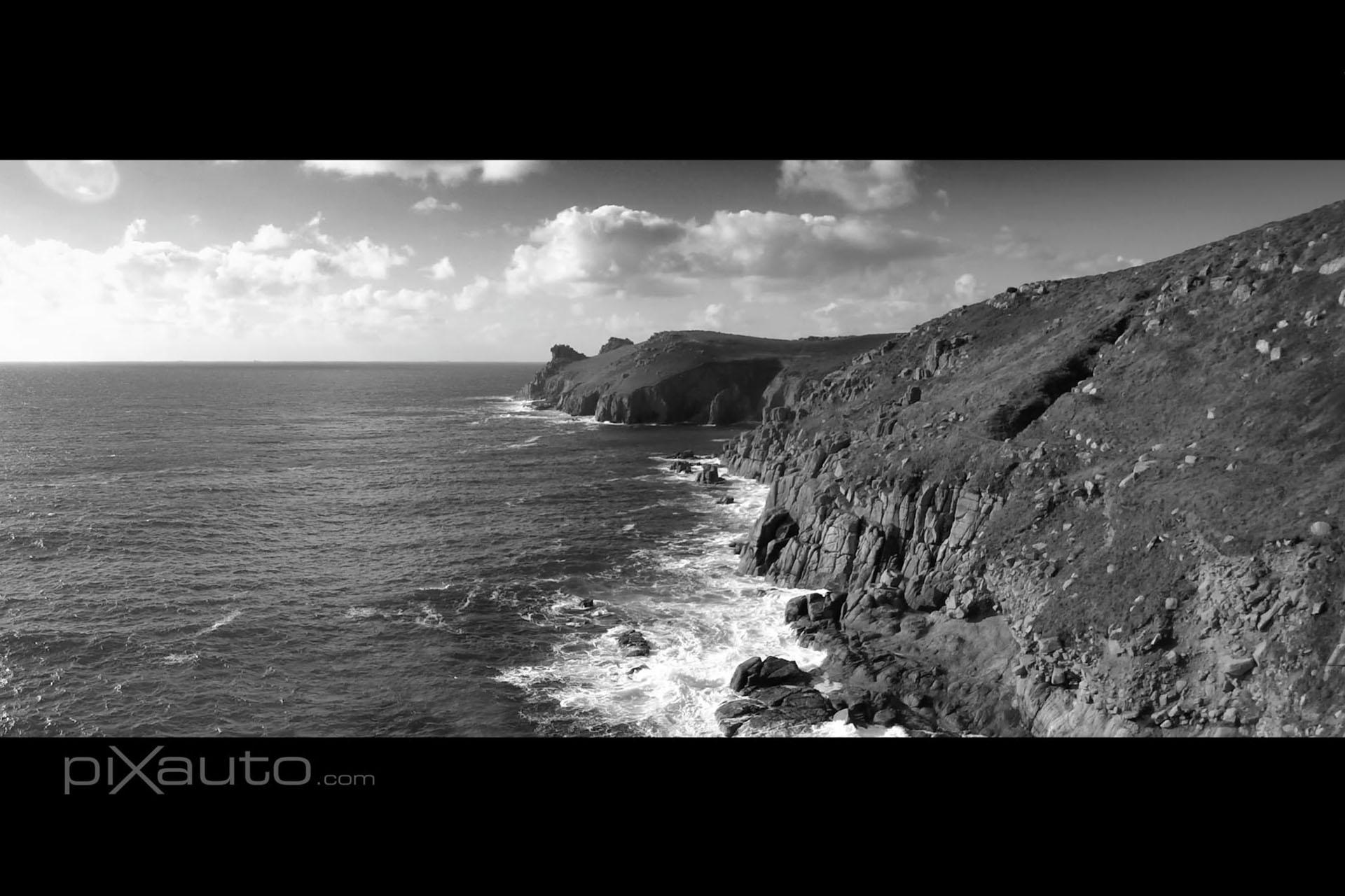 Lands End Cliffs aerial photo