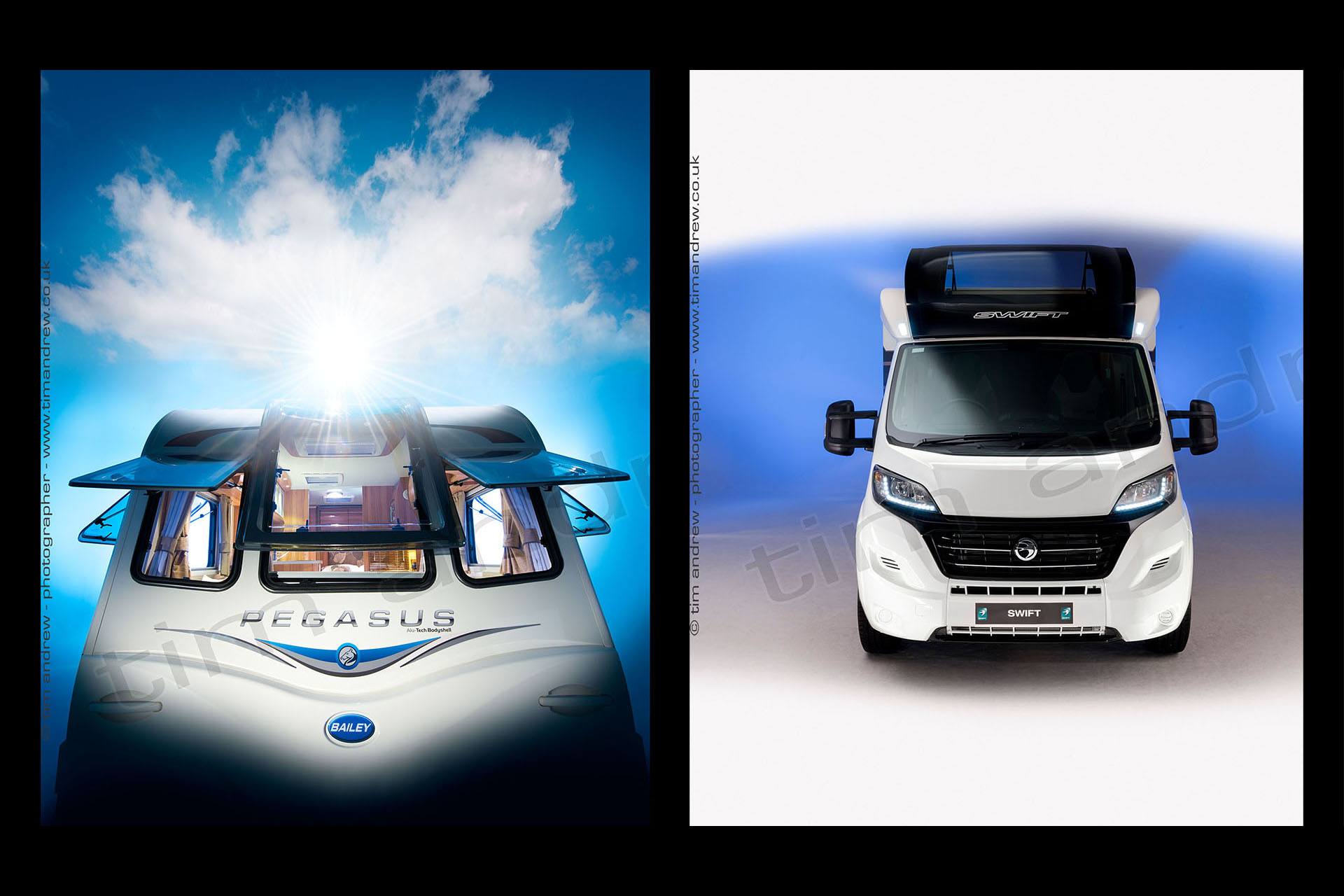 Caravan and motorhome studio