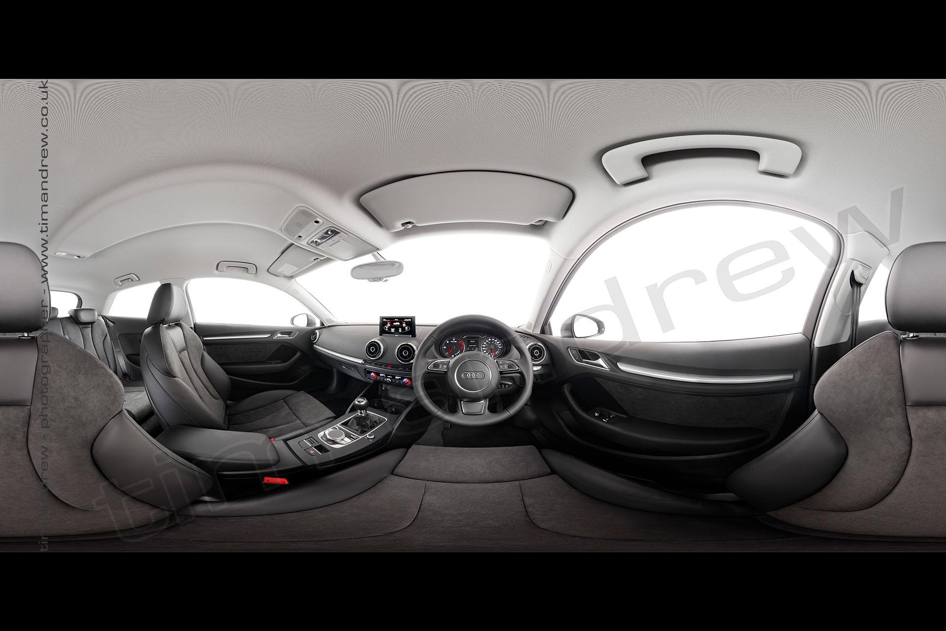 Audi A3 interior panorama