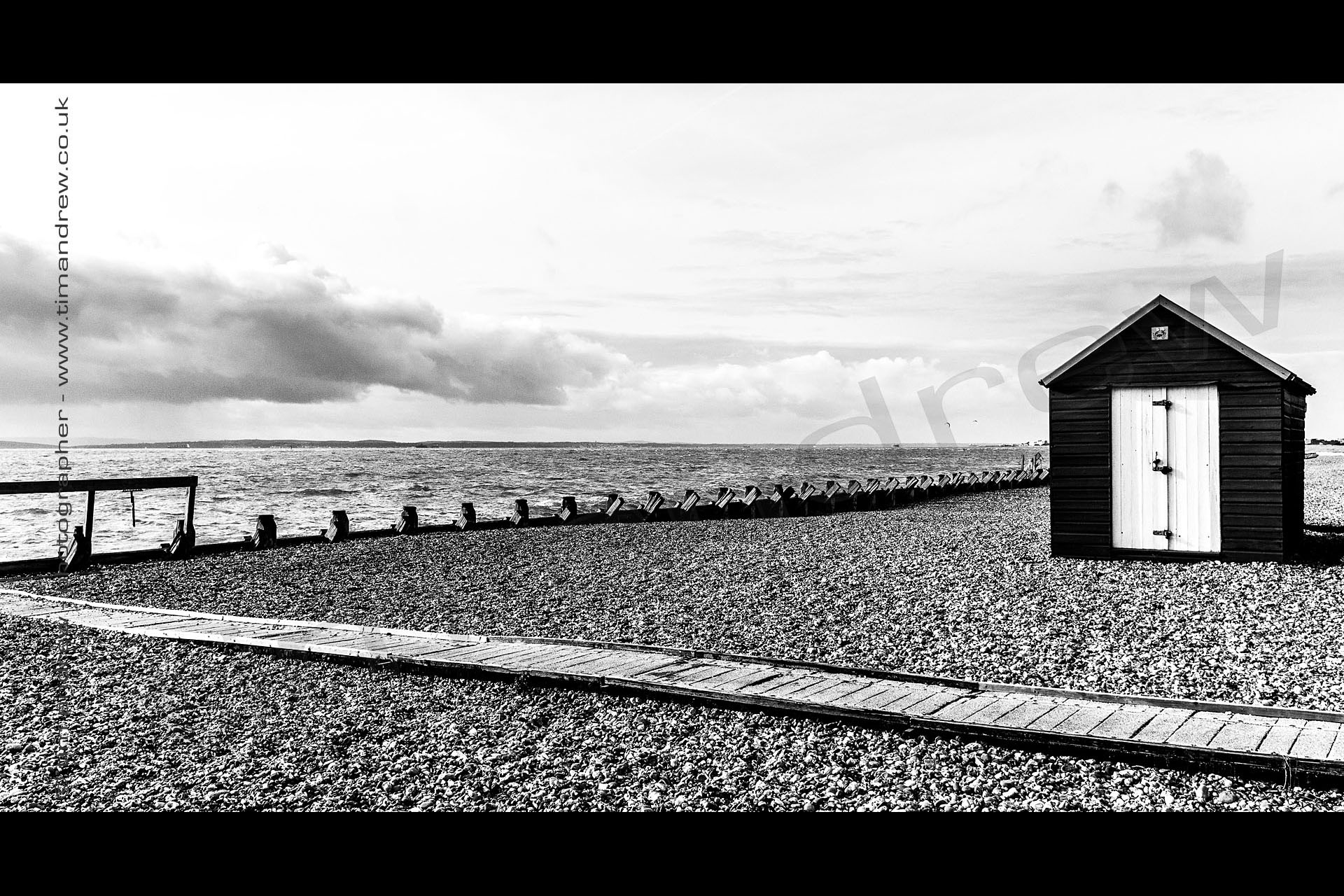 Hayling Island beach hut
