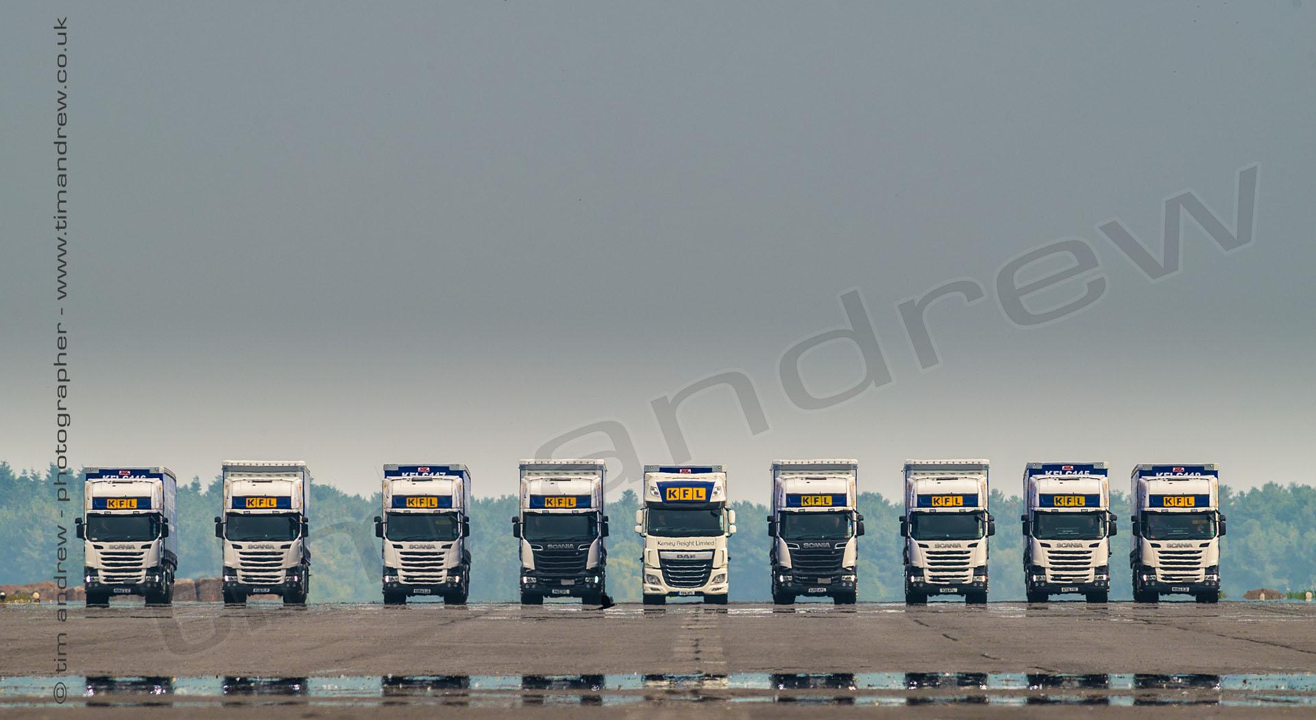 Kersey Freight Scania trucks