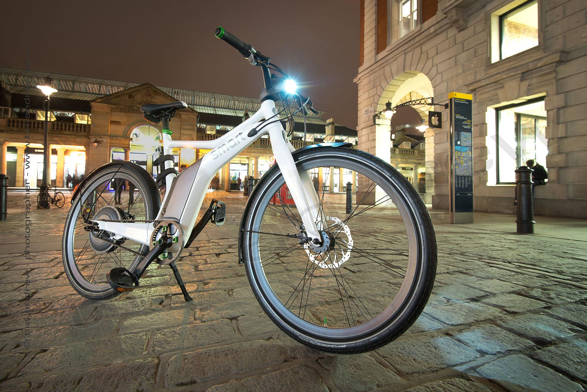 Smart E-bike in Covent Garden