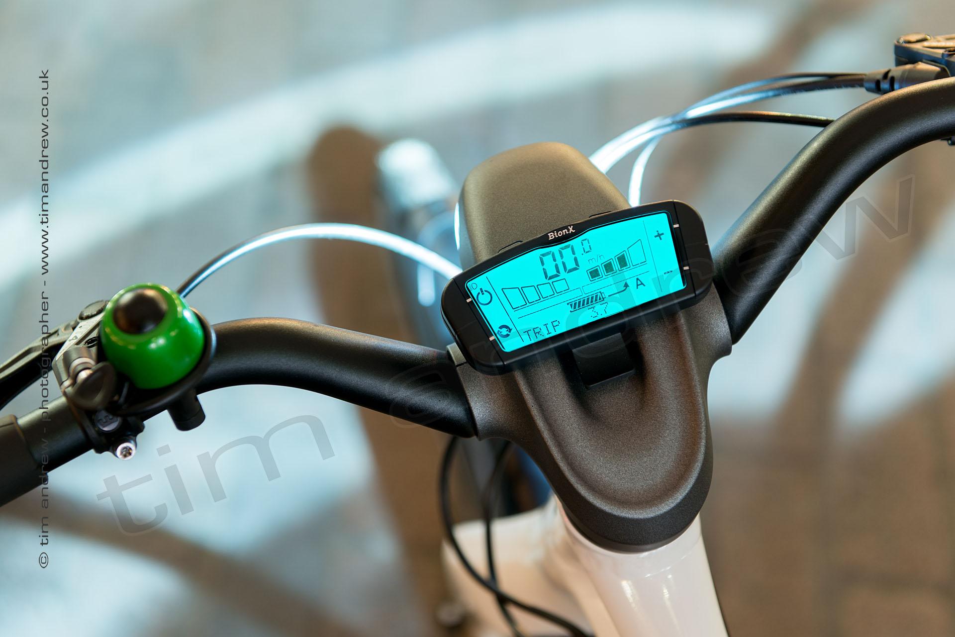 Smart E-bike instruments