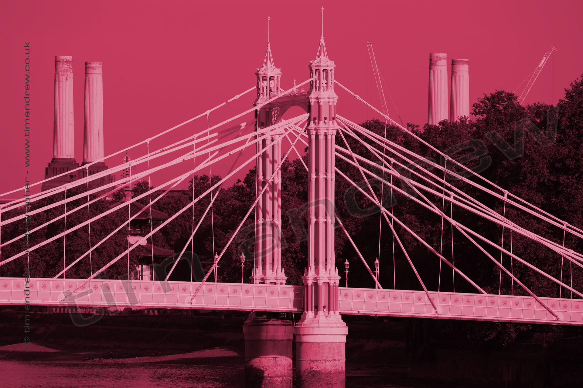 London Chelsea Bridge