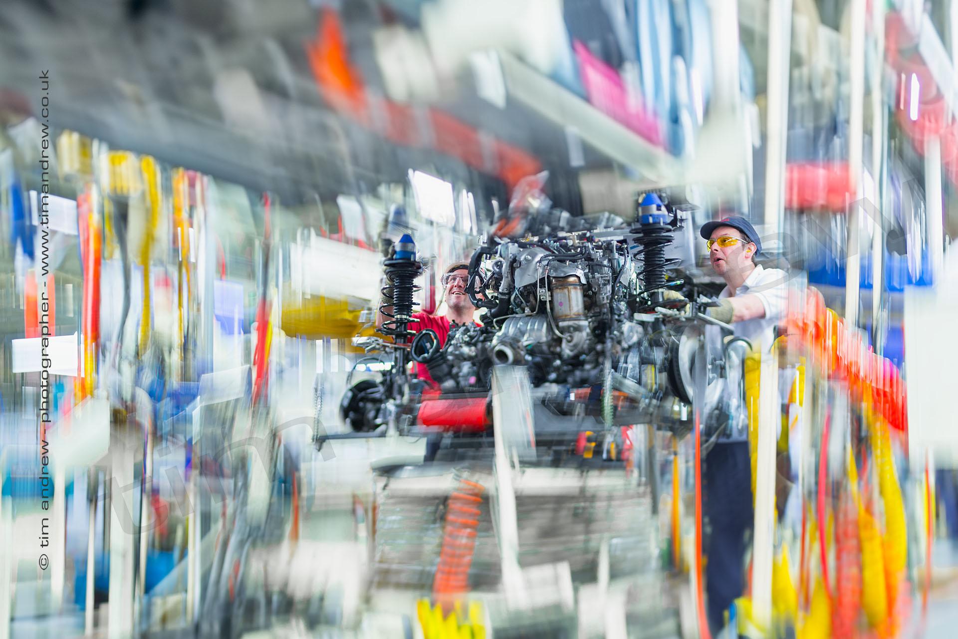 Toyota Burnaston factory photography