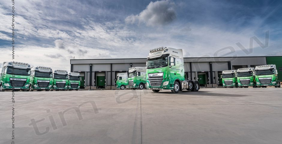 AIM Logistics DAF trucks