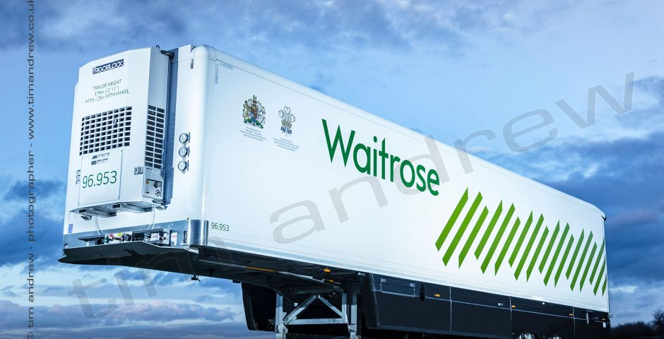 Waitrose refrigerated trailer built by Gray Adams