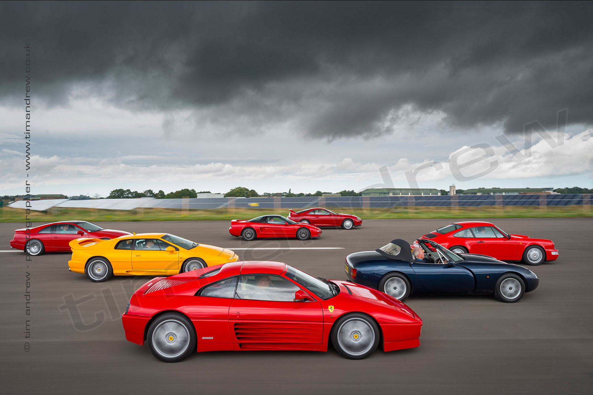 1990s Supercars at Scottow Enterprise Park shot by Tim Andrew