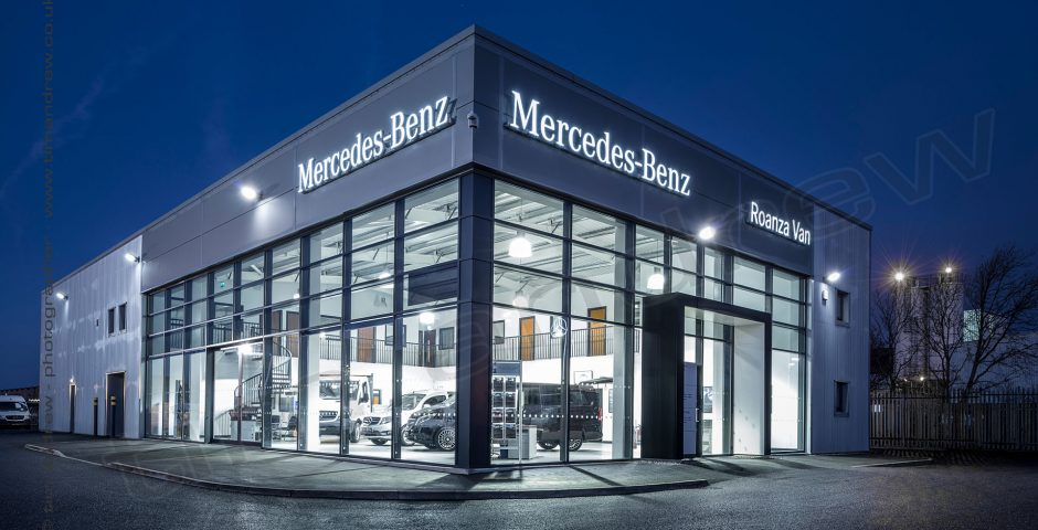 Mercedes-Benz van dealership Roana Liverpool